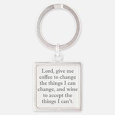 Lord Coffee Wine Keychains