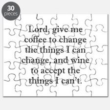 Lord Coffee Wine Puzzle