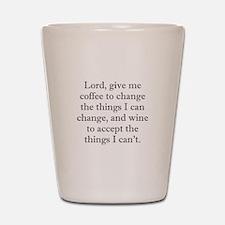 Lord Coffee Wine Shot Glass
