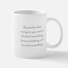 Love Afraid Lost Mugs