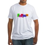 Scrapbooking - Born to Crop Fitted T-Shirt