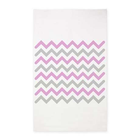 pink and grey chevron 3 39 x5 39 area rug by admin cp49789583. Black Bedroom Furniture Sets. Home Design Ideas