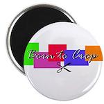 Scrapbooking - Born to Crop Magnet