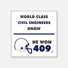 Civil Engineers Sticker