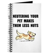 Neutering Nuts Dog Journal