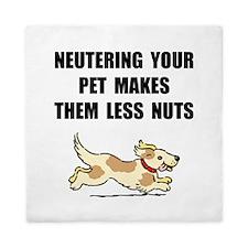 Neutering Nuts Dog Queen Duvet