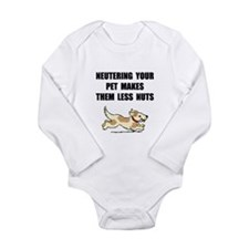 Neutering Nuts Dog Body Suit