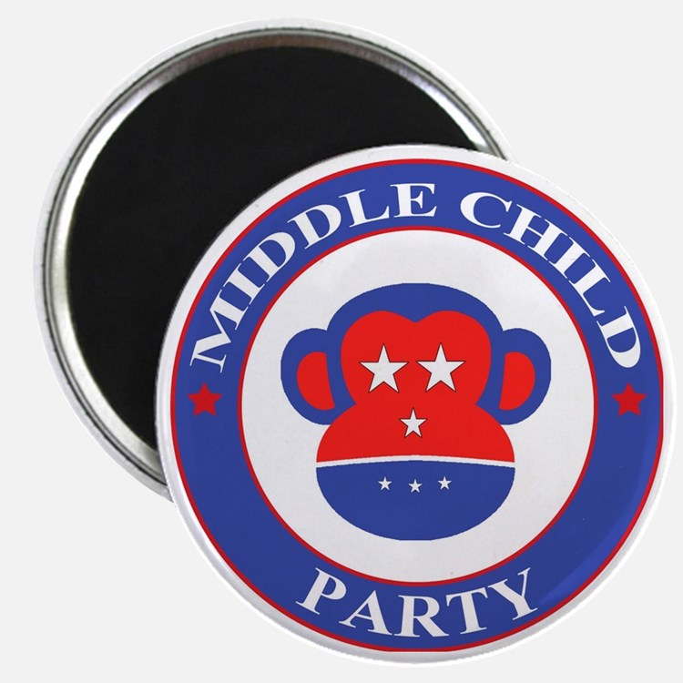 Middle Child Party Logo Magnet