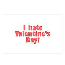 Cool Anti valentine valentine Postcards (Package of 8)
