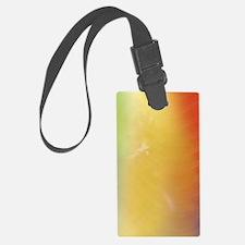 Warm Abstract Art Luggage Tag