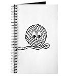 Yarn Ball Cartoon Journal