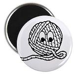 Yarn Ball Cartoon Magnet