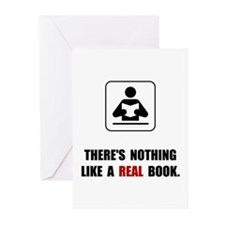 Real Book Greeting Cards