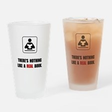 Real Book Drinking Glass