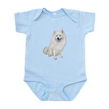 American Eskmio Dog Infant Bodysuit