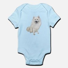 American Eskmio Dog Infant Bodysuit