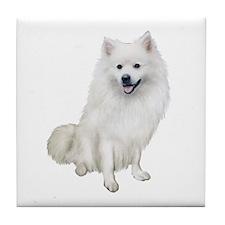 American Eskmio Dog Tile Coaster