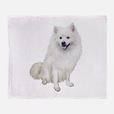 American Eskmio Dog Throw Blanket