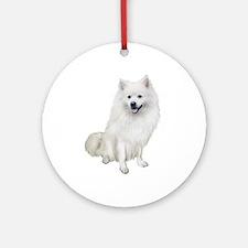 American Eskmio Dog Ornament (Round)
