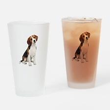 Beagle #1 Drinking Glass