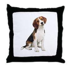 Beagle #1 Throw Pillow