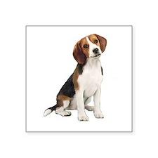 """Beagle #1 Square Sticker 3"""" x 3"""""""