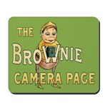 Brownie Camera Page Mousepad