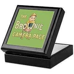 Brownie Camera Page Keepsake Box