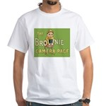 Brownie Camera Page White T-Shirt