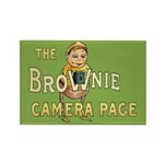 Brownie Camera Page Rectangle Magnet (10 pack)