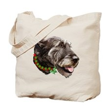 Irish Wolfhound Christmas Tote Bag