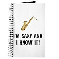 Saxy Know It Journal
