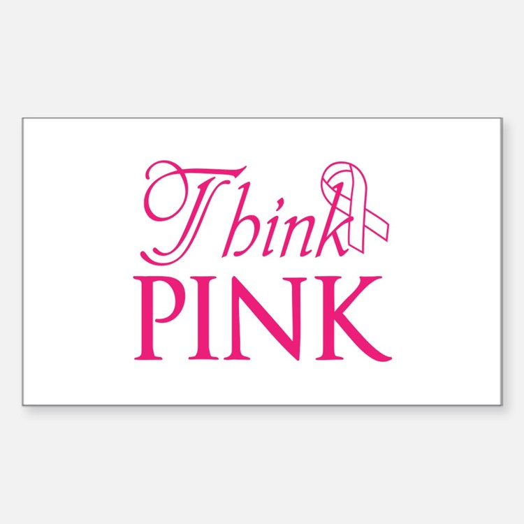 Think Pink Decal