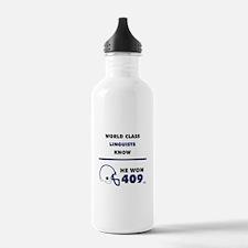 Linguists Water Bottle