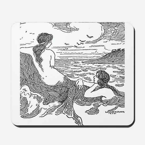 Latimer J Wilson Mermaids Mousepad