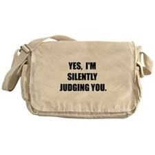 Silently Judging Messenger Bag