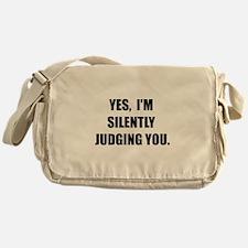 Silently Judging Messenger Bag