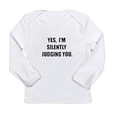 Silently Judging Long Sleeve T-Shirt