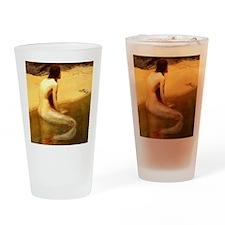 John Collier Mermaid Drinking Glass
