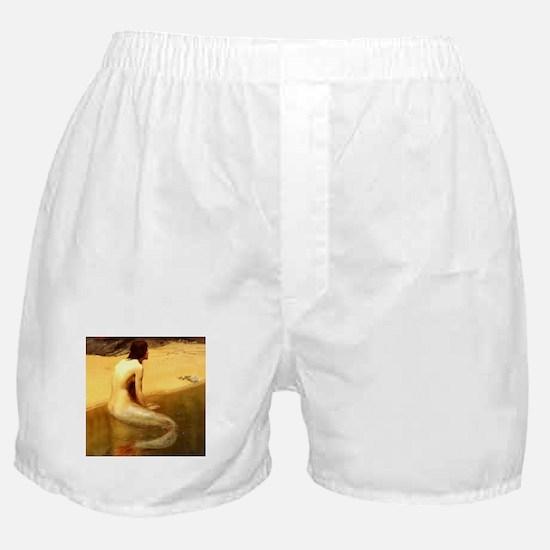 John Collier Mermaid Boxer Shorts