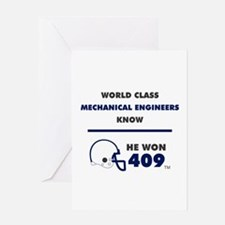 Mechanical Engineers Greeting Cards