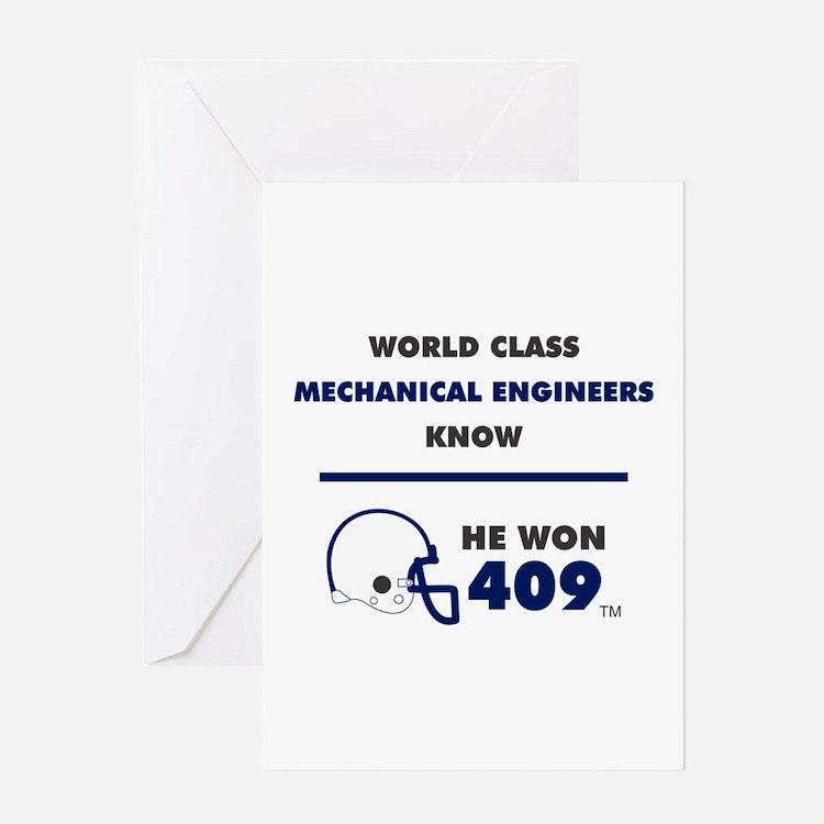 Mechanical Engineers Greeting Cards