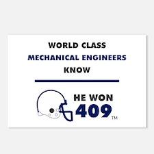 Mechanical Engineers Postcards (Package of 8)