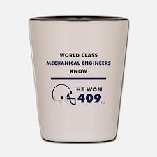 Mechanical Engineers Shot Glass