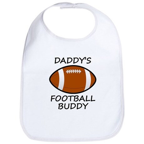 Daddys Football Buddy Bib
