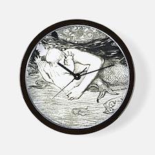 Amelia Bauerle Mermaid Wall Clock