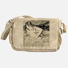 Amelia Bauerle Mermaid Messenger Bag