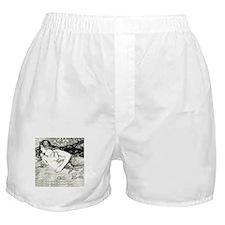 Amelia Bauerle Mermaid Boxer Shorts