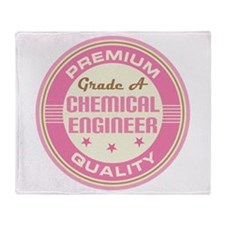 Premium quality chemical engineer Throw Blanket