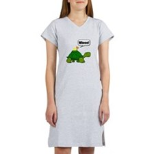 Snail Turtle Ride Women's Nightshirt